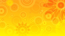 Abstract Summer Background Wit...