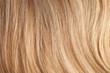 Healthy long female hair, closeup