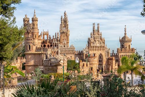 Beautiful castle in Benalmadena Spain