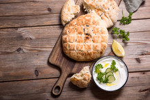 Flatbread, Baked Traditional O...