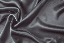 Dark Silk Background With A Fo...