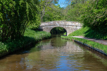 Whitehouse Bridge No 26W Over The Llangollen Canal Near Froncysyllte In Wales, UK