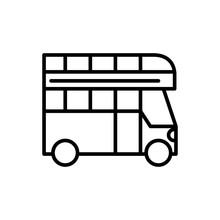 Double Deck Bus Transport Line...