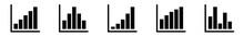 Bar Graph Icon Black | Bar Dia...