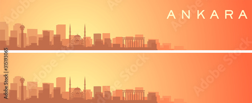 Photo Ankara Beautiful Skyline Scenery Banner