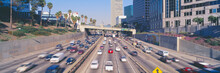 Harbor Freeway At Rush Hour, L...