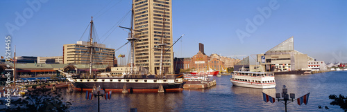 Photo USS Constellation, Inner Harbor, Baltimore, Maryland
