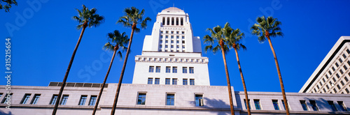 Fototapeta City Hall, Los Angeles, California obraz