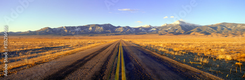 Fotografie, Obraz Route 50, Road to Great Basin National Park, Nevada