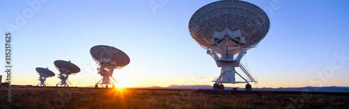 Obraz na plátne National Astronomy Observatory, Socorro, New Mexico