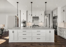 Beautiful Kitchen In New Luxur...
