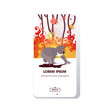 koala escaping from forest fires in australia animals dying in wildfire bushfire natural disaster concept intense orange flames smartphone screen online mobile app vector illustration