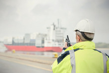 Dock Manager With Walkie-talki...