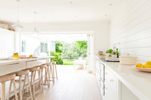 Simple White Home Showcase Int...
