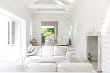White Wood Shiplap Home Showca...