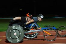 Paraplegic Athletes Speeding A...