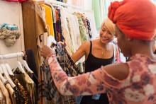 Young Women Friends Shopping I...