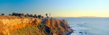 San Vicente Lighthouse At San Pedro Harbor, Los Angeles, California
