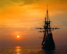 Mayflower II Replica At Deep R...