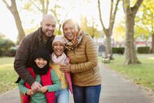 Portrait Happy Muslim Family I...