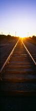 Sunrise Over Railroad Tracks N...