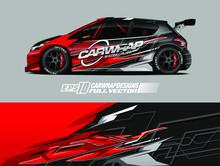 Car Wrap Design Vector. Graphi...