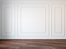Classic White Empty Interior W...