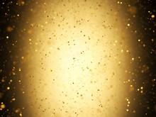 Gold Confetti, Illustration