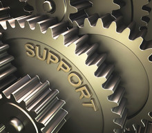 Gears With The Word 'support'