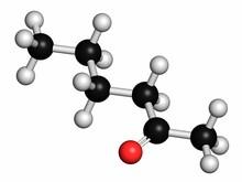 Methyl Butyl Ketone Molecule