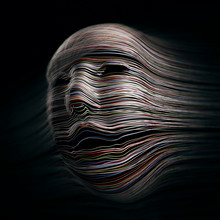 Distorted Head, Illustration