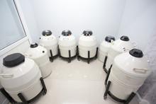Sperm Freezing Storage In Liquid Nitrogen Tank, Laboratory Infertility 1