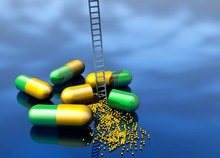 Capsules And Ladder