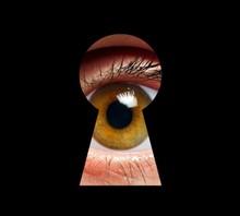 Eye And Keyhole, Illustration