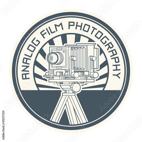 Obraz Analog Film Photography stamp - fototapety do salonu