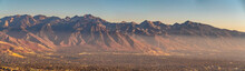 Panoramic View Of A Mountain R...