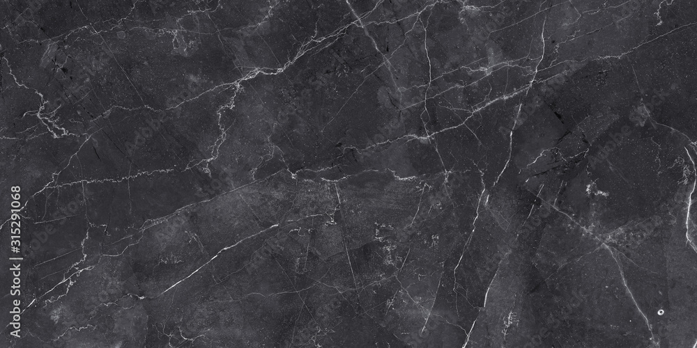 Fototapeta dark color marble texture, black stone marble background