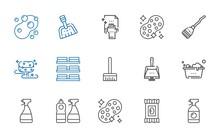 Sponge Icons Set