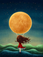 Little Girl On The Moon