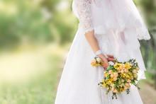 Beautiful Wedding Bouquet In T...