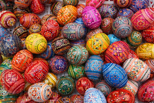 Stampa su Tela color easter eggs