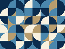 Mid-Century Abstract Vector Pa...