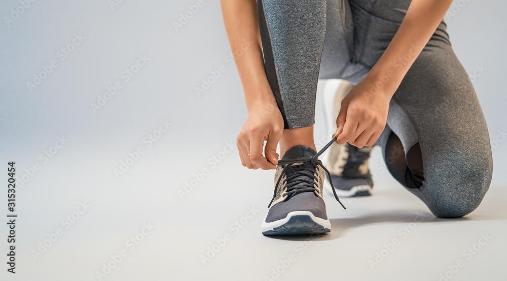 Fototapeta athletes foot close-up