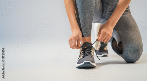 athletes foot close-up - 315320454