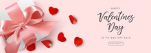 Valentine's Day Sale Banner On...