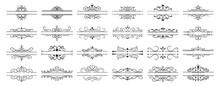 Calligraphic Dividers. Decorat...