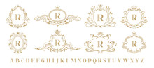 Luxury Monogram. Vintage Ornam...