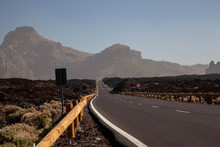 Road In Teide National Park Sp...