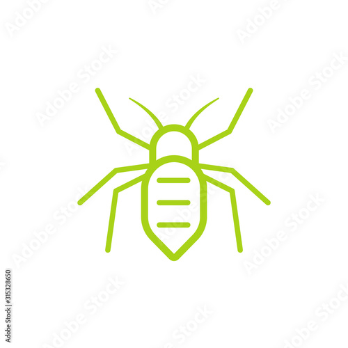 Photo Aphid insect pictogram