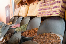 Variety Of Spices In Medina Of...